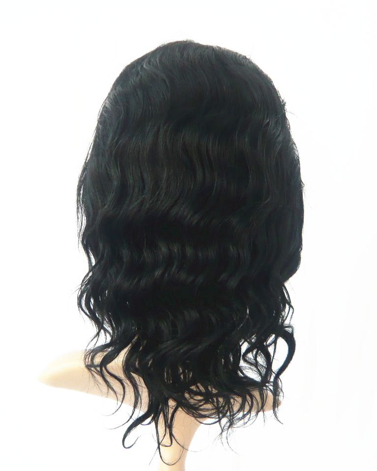 lace front wigs with bangs