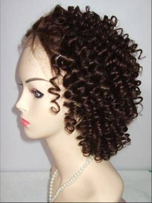curl human hair full lace wigs