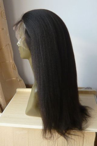 remy hair full lace wig