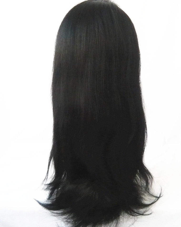 lace front wig indian remy hair