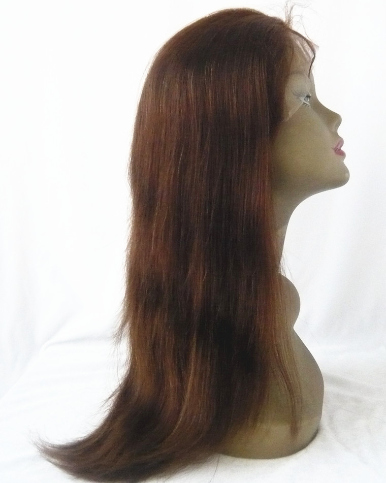 lace front wig indian remy