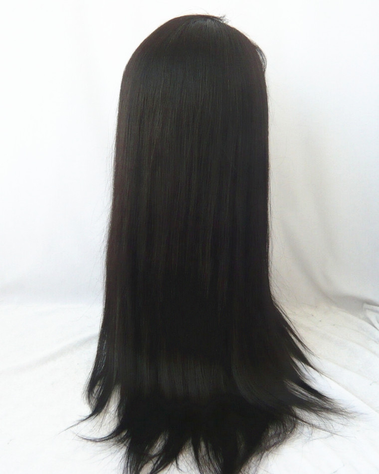 human hair lace front wig in stock