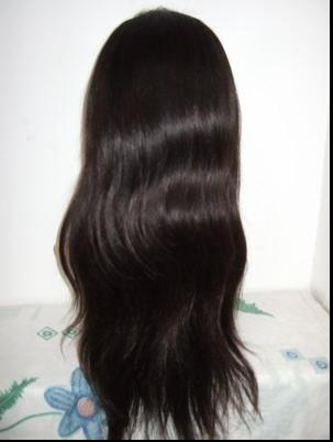 Straight human hair full lace wigs cheap