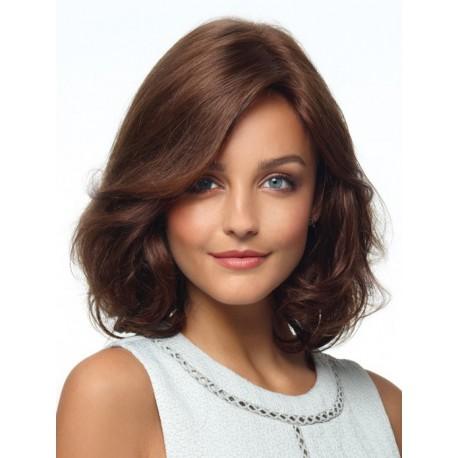 "Human Hair Wigs 14"" wave"