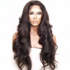 Full lace Wigs Human Hair Black hair