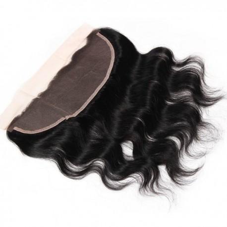 Brazilian virgin hair lace frontal body Wave