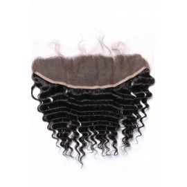 Brazilian virgin hair Lace Frontal Deep Wave