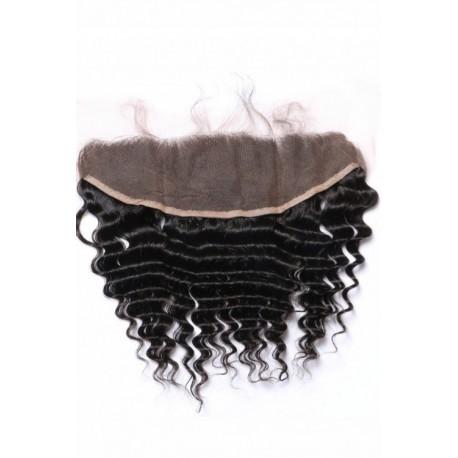Brazilian virgin hair Lace Frontal Deep Wave