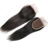 Virgin remy lace closure straight hair