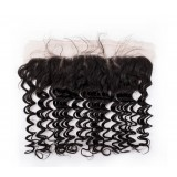 Peruvian virgin hair Lace Frontal Deep Wave