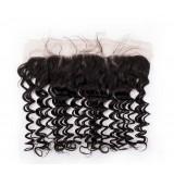 Peruvian virgin hair Lace Frontal Deep Wave