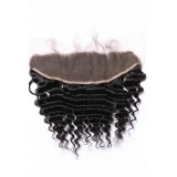 Virgin Indian hair lace frontals deep wave