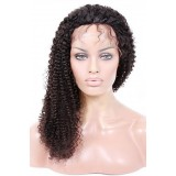 Brazilian lace front wigs kinky curly