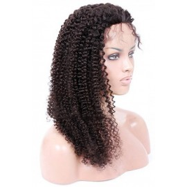 Peruvian Kinky Curly Lace Front Wigs