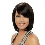 Indian Remy human hair wigs with bang