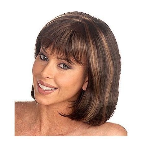 100% Real Human Hair Bob Wig 12inch straight
