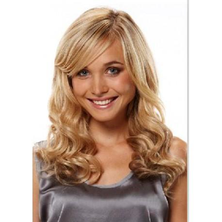 100% Human hair wigs wavy 27/613