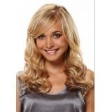 100% Human hair wigs wavy 27/613 hi-light
