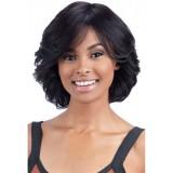 Human hair wigs cheap wavy style
