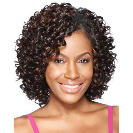 Human hair curly wigs cheap