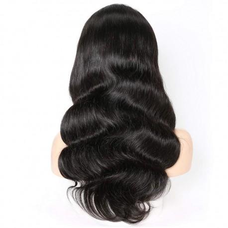 Virgin Brazilian hair Body Wave 13X6 lace Front wigs for black women