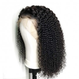 Brazilian hair kinky curly 13X6 lace Front wig with baby hair