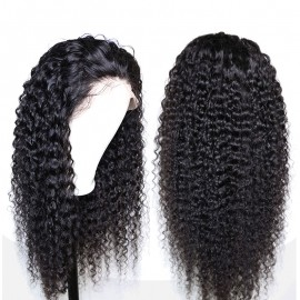 Brazilian Deep curly 13X6 lace Front wig