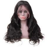 Virgin Human Hair Closure wigs Body Wave