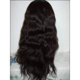 Malaysian Natural Wavy Full Lace Wig