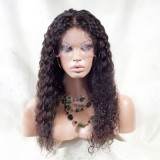 Indian Full lace wigs deep curly