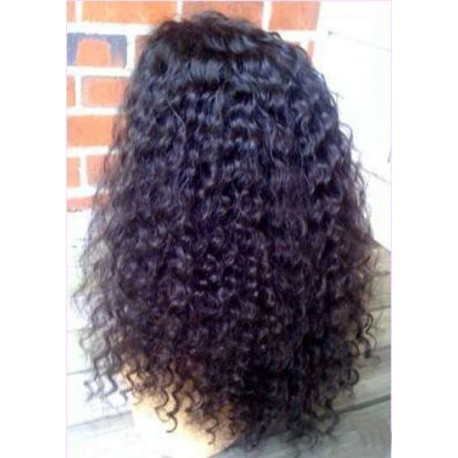 Glueless Full lace wigs Wavy 14""