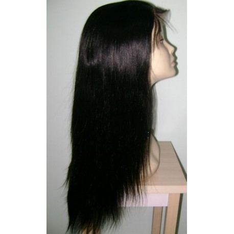 "Brazilian Full Lace Wigs 18"" Natural stragiht"